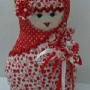 Russian Doll Babushka - Red (B)