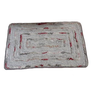 French Country New Floor Mat Rectangle BELLE Shaggy Bed Floor Rug 80 x 50cm