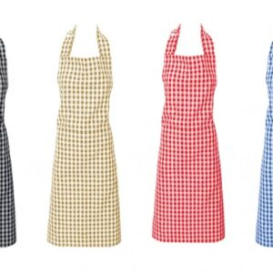 Gingham Check Apron - Assorted Colours