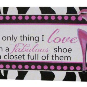 Fabulous Shoes Tin Sign (B)