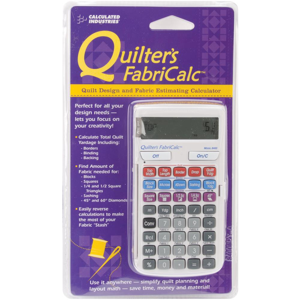 Quilters Fabricalc - Fabric Calculator for Patchwork Quilters
