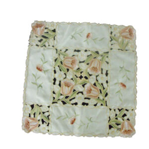 French Country Doiley Tulips Doily Lace Placemat Doily for Table or Duchess 30x30cm New