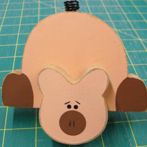Pig Wooden Shelf Sitter wooden Ornament