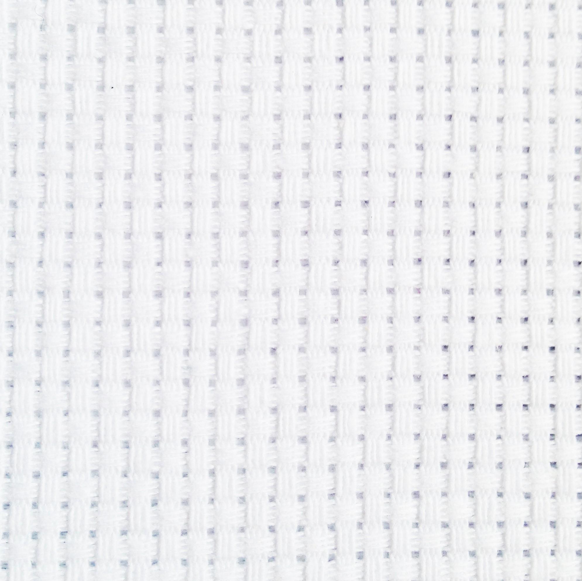 White Aida Cloth 14ct - Quality Zweigart Brand 2 sizes
