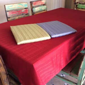 French Country New Table Cloth - Toledo RED - Tablecloth Assorted Sizes