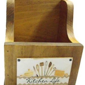 Handmade Wooden Timber Kitchen Gadgets and Utensils Holder New