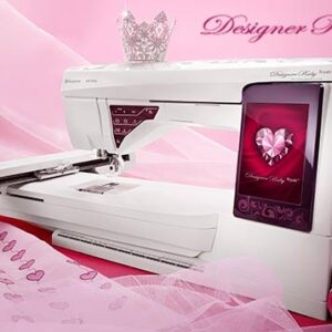 Husqvarna Viking Designer Ruby Royale Sewing Quilting & Embroidery Machine