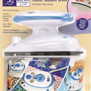 Birch Mini Steam Iron for Craft & Travel, Caravans, Motorhomes New