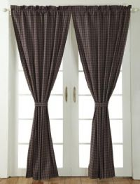 SET OF 2 DROPS CURTAINS EACH DROP IS 100W X 210CM DROP SOLD AS A SET AS SHOWN