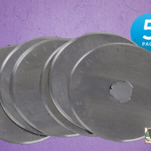 Set of 5 Rotary Cutting Blades 45mm All Brands, Olpha, Clover, Truecut, Kai