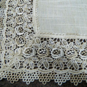French Country Doiley SEVILLE NATURAL Doily Lace Placemat, Runner, Table or Duchess NEW