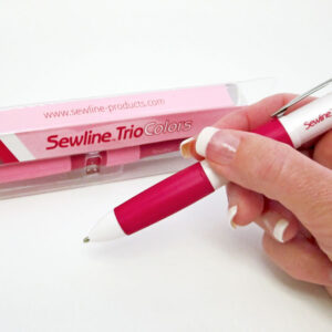 Sewline Trio Colours Erasable Pencil for Sewing, Embroidery & Patchwork New