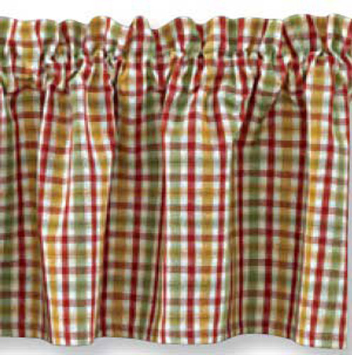 Frilled Kitchen Curtains Lined: French Country Curtain Ruffled PICKET FENCE LAYER LINED