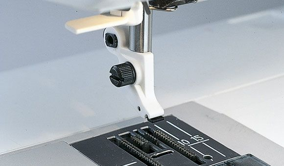 Husqvarna Viking ANKLE WITH SPRING CLIP Foot for Sewing, Janome, Brother, Singer, Elna