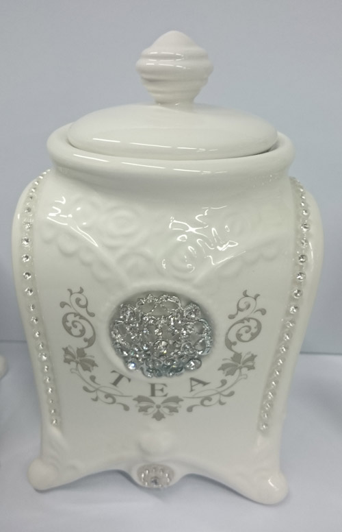 elegant kitchen canisters french country elegant kitchen canisters tea coffee sugar bling with seals new 6017