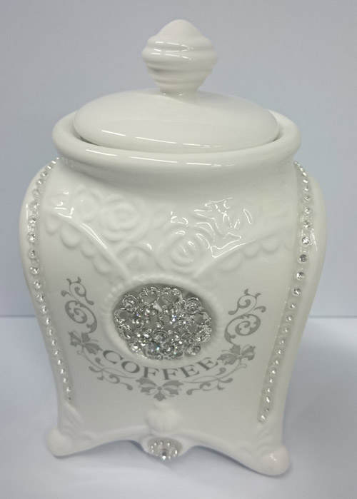 elegant kitchen canisters french country elegant kitchen canisters tea coffee sugar bling with seals new 8665