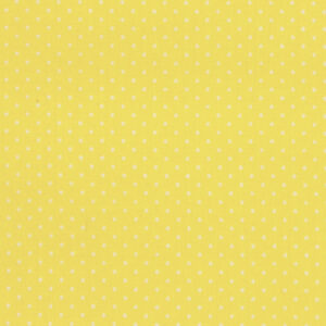 Quilting Patchwork Cotton Sewing Fabric MICRO SPOTS YELLOW 50x55cm FQ NEW www.somethingscountry.com.au