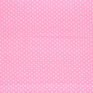 Quilting Patchwork Cotton Sewing Fabric MICRO SPOTS PINK 50x55cm FQ NEW www.somethingscountry.com.au