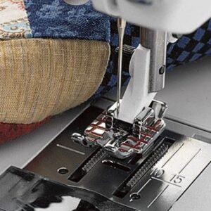 Husqvarna Viking METAL QUILTER 1/4 inch Piecing Foot suits all machines NEW
