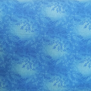 Quilting Patchwork Sewing Fabric BLUE VINE Wide Backing 270x50cm New