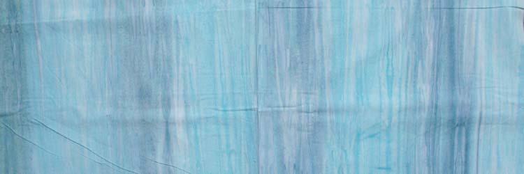 Quilting Patchwork Sewing Fabric BATIK AQUA MIST Cotton 50x110cm NEW