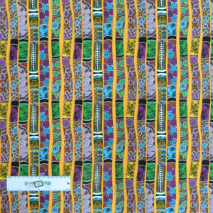 Quilting Patchwork Sewing Fabric GOANNA WALKABOUT Didgeridoo Cotton 50x55cmFQ NEW