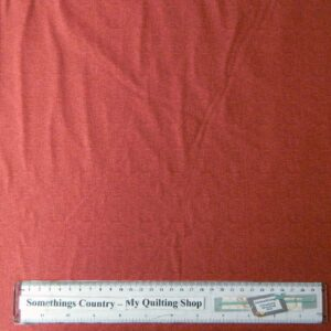 Quilting Patchwork Sewing Fabric INDIAN RED CHAMBRAY TONAL 50x55cm FQ NEW