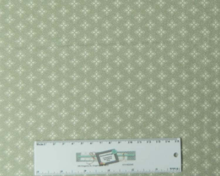 Quilting Patchwork Sewing Cotton Fabric PEMBERLEY GREEN 50 x 55cm FQ NEW