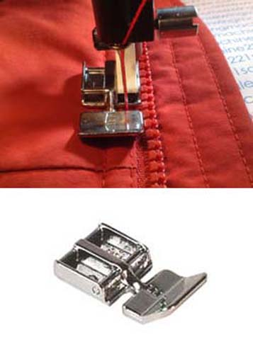 Husqvarna Viking Metal NARROW ZIPPER FOOT FOR E40 Sewing Machine NEW Unique Husqvarna Sewing Machine Zipper Foot