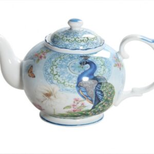 Collectable Novelty Teapot PEACOCKS China Tea Pot for collector FREEPOST NEW