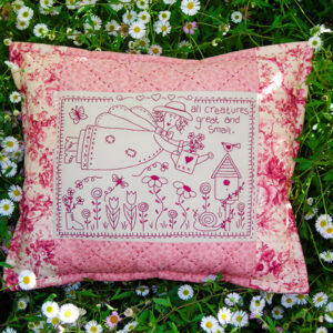 Quilting Sewing Cushion Pattern GREAT & SMALL Sally Giblin Rivendale Collection NEW