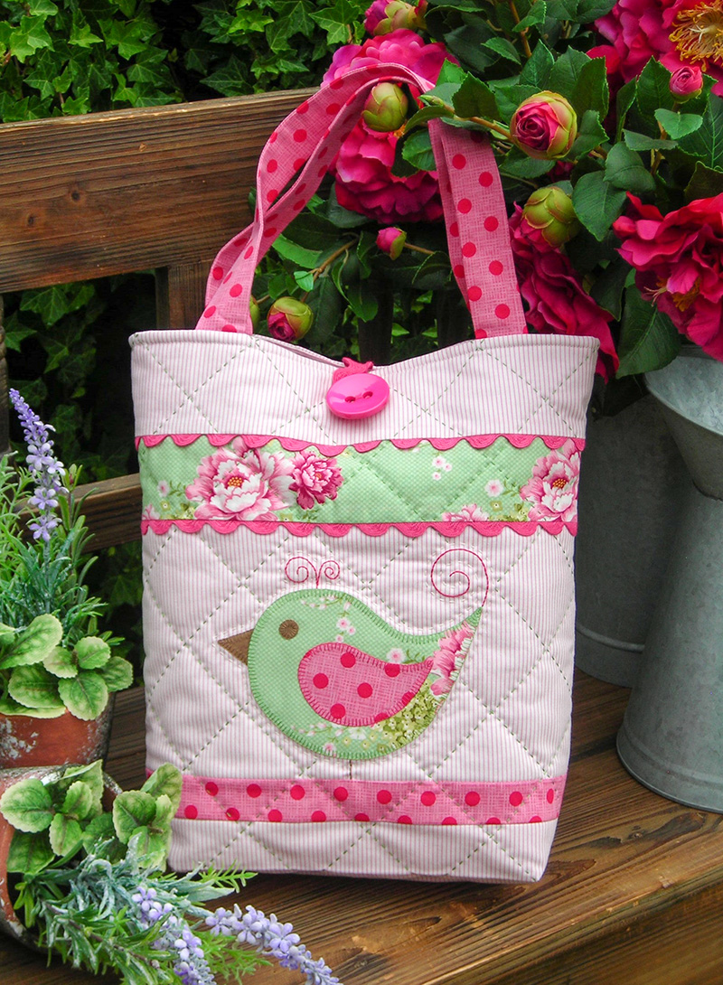 Quilting Sewing Bag Pattern HOPSCOTCH Sally Giblin Rivendale Collection NEW