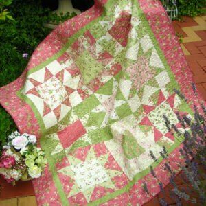 Quilting Sewing Quilt Pattern SCRUMPY STARS Sally Giblin Rivendale Collection Patchwork NEW