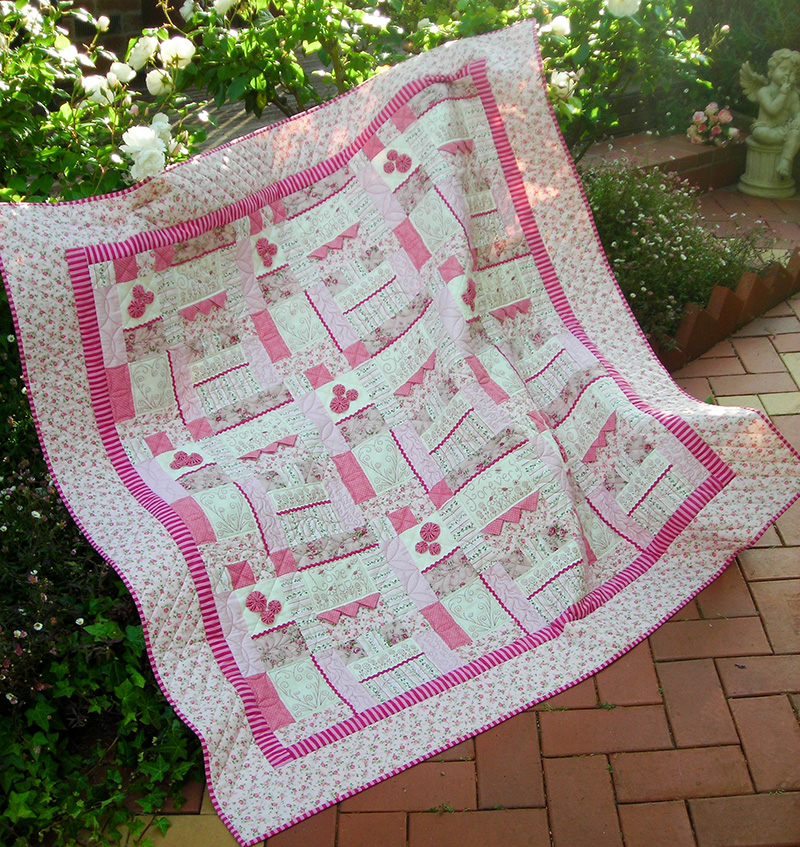 Quilting Sewing Quilt Pattern SWEET, LOVE & FOREVER Sally Giblin Rivendale Collection Patchwork NEW