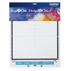 Brother Scan N Cut or Design N Cut LOW TACK 12 x 12 Adhesive Cutting Mat New