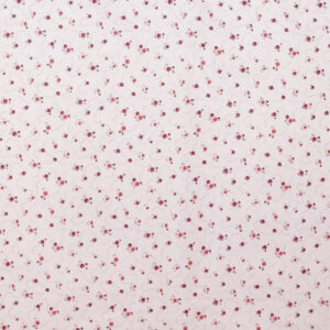 Quilting Patchwork Sewing Fabric PINK FLORAL Cotton Material 50x55cm FQ NEW