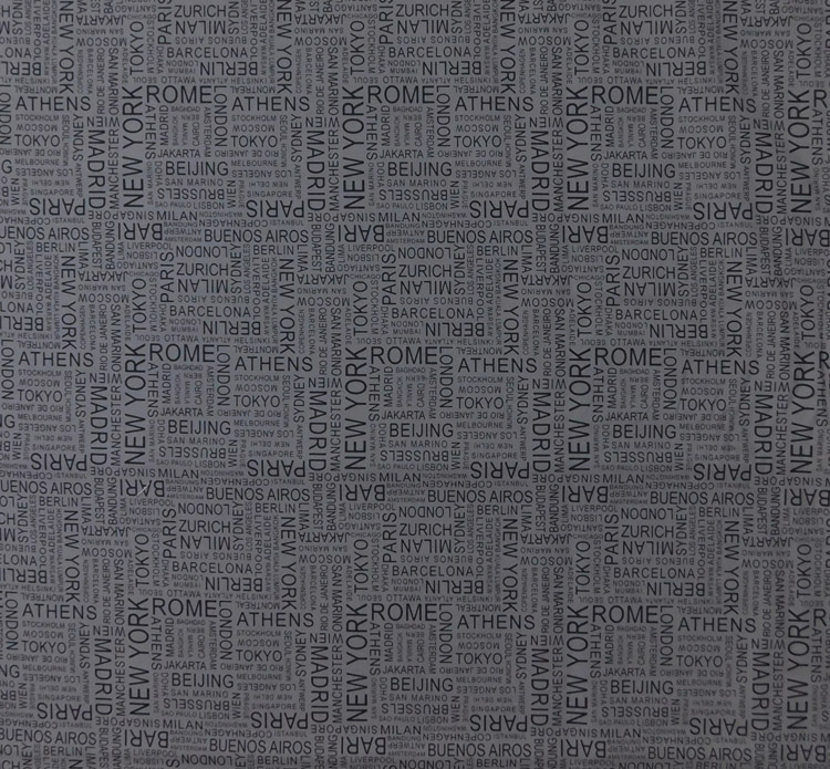 Quilting Patchwork Sewing Fabric WORLD TRAVEL Cotton Material 50x55cm FQ NEW