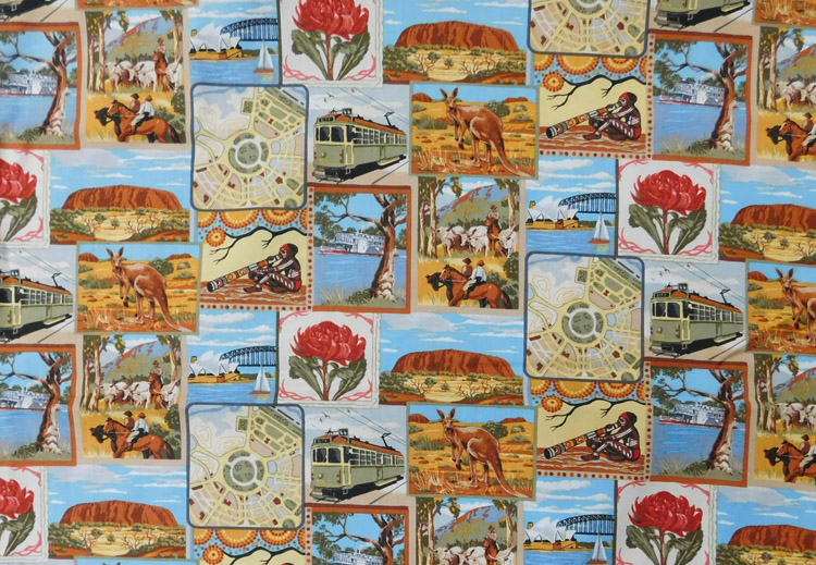 Quilting patchwork sewing fabric australian gold cotton