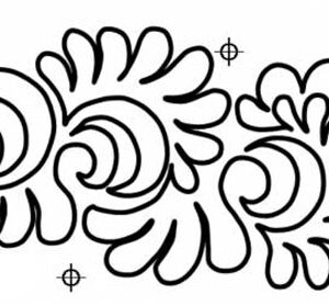 Quilting Full Line Stencil Swirl Assort Reuse for Quilts use Pounce A3 New