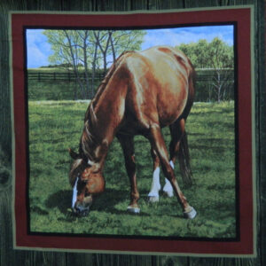 Patchwork Quilting Sewing Fabric VALLEY HORSE 2 Patchwork Quilting Sewing Fabric NEW