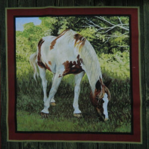 Patchwork Quilting Sewing Fabric VALLEY HORSE 1 Patchwork Quilting Sewing Fabric NEW