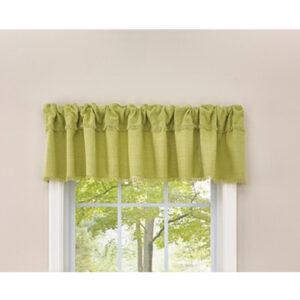 French Country Curtain CRAWFORD ALOE Kitchen Window VALANCE 180x35cm New