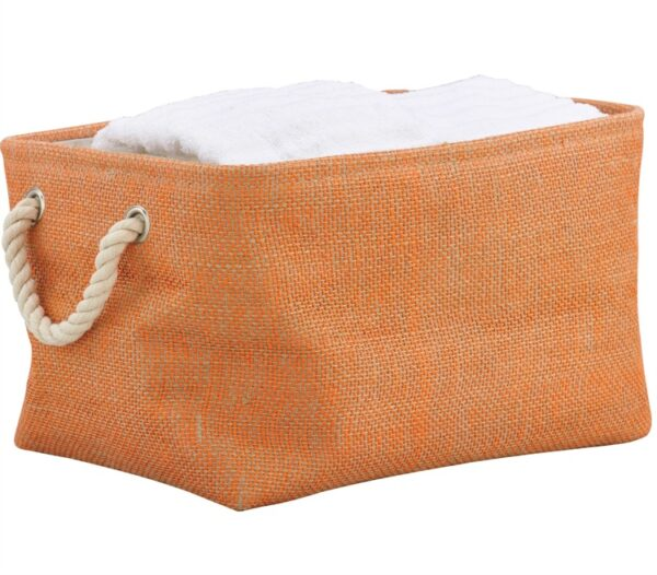 French Country Modern Inspired Seagrass Styled STORAGE BINS WATERMELON SET 3 New