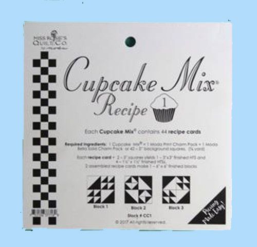 Quilting Sewing Quilt Pattern Moda Cupcake Mix 1