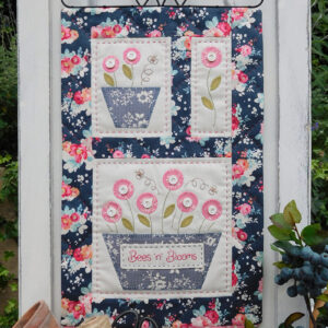 Quilting Sewing Wall Hanging Pattern BEES N BLOOMS Sally Giblin Rivendale Collection NEW
