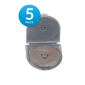 Set of 5 Rotary Cutting Blades 28mm Fits All Brands, Olpha, Clover, Truecut, Kai NEW