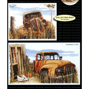 Country Threads Cross Stitch Counted X Stitch Pattern Graph COLLECTING RUST New