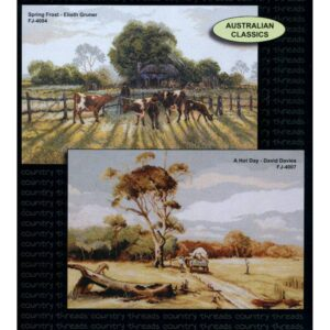 Country Threads Cross Stitch Counted X Stitch Pattern Graph AUSTRALIAN CLASSICS New