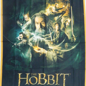 Patchwork Quilting Sewing Fabric THE HOBBIT CHARACTERS Material Panel 92x110cm New