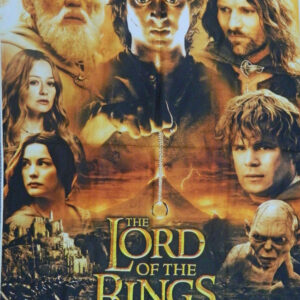 Patchwork Quilting Sewing Fabric THE LORD OF THE RINGS Material Panel 92x110cm New